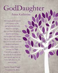 Goddaughter Quotes New GODDAUGHTER Gift Gift For Goddaughter Personalized Gift For