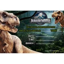 Jurassic Park Invitations Jurassic Park Invitations You Get Ideas From This Site