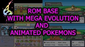 Pokemon FireRed Rom Base with Mega and Animated Pokemon