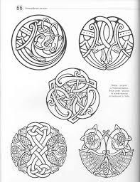кельтские узоры библиотека образцов скан 125 фото основа