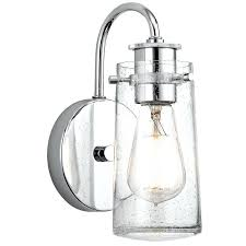 clear glass wall sconce clear glass globe wall sconce