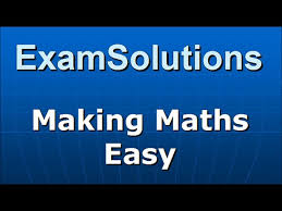 simultaneous equations elimination method tutorial 6 examsolutions maths revision