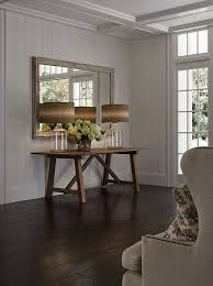 reclaimed wood console table cottage