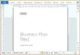 Ms Word Business Plan Template Ms Word Business Card Templates Free Download Inspirational Simple