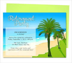 Free Templates For Retirement Invitations Retirement Invitation With ...