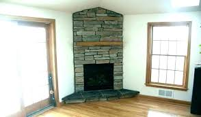 corner fireplace mantels good and surround for