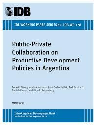 Iadb Organizational Chart Reporte Bid Public Private Collaboration On Productive