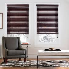smart privacy construction makes these real wood blinds prevent light from filtering through when