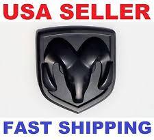 black dodge ram logo. new 3d dodge ram head matte black emblem logo badge front hood flat trunk grille black dodge ram logo m
