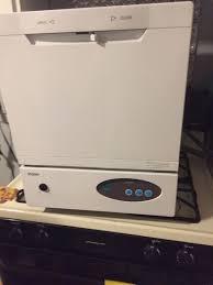 haier countertop dishwasher on granite countertop cost