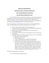 Building Design Fee Proposal Letter 10 Architectural Design Proposal Sample Images