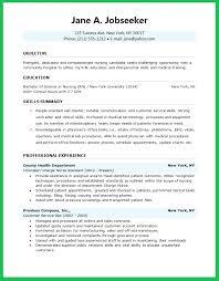 Resume For New Nursing Graduate Student Creative Design Templates