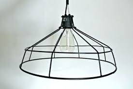 cage light shade cage light shade hanging metal wire lamp shade exposed bulb cage light chandelier cage light
