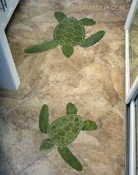 Mosaic Bathroom Floor Tile Bathroom Floor Mosaics Thomas Deir Honolulu Hi Artist