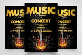 Concert Flyer Templates Free Music Concert Flyer Template