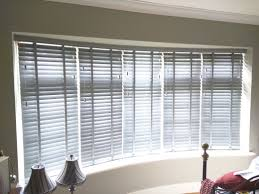 pottery wood venetian blinds curved window enfield bay