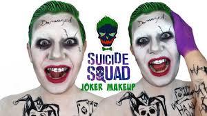 squad jared leto joker makeup tutorial