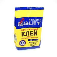 """<b>Клей</b> д/<b>обоев</b> """"<b>QUALITY</b>"""" Флизелин 200гр в Калининграде"""