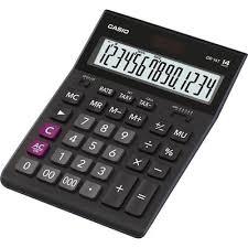 <b>Калькулятор настольный Casio GR-14T</b>-W-EP 14-разрядный ...