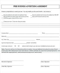Business Agreement Template 9 Templates Samples Examples Format ...