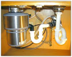 kitchen sink clogged garbage disposal not working single bowl plumbing diagram