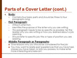 What Are The Parts Of A Cover Letter - Fast.lunchrock.co