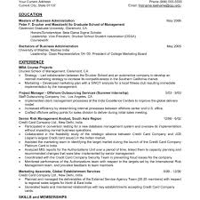 Mba Graduate Resume Examples Mba Resume Examples sraddme 2