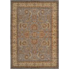 home dynamix royalty blue ivory 3 ft x 4 ft indoor area rug