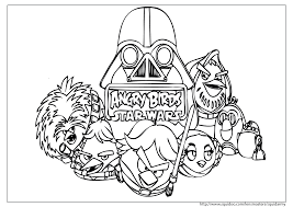 Small Picture Star Wars Angry Birds Coloring Pages Angry Birds Star Wars