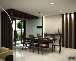 marvelous curtain design modern dining room table
