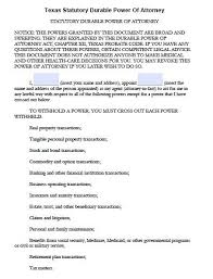 Durable Power Of Attorney Forms. Free Durable Power Of Attorney ...
