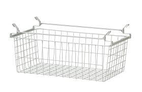 d sliding basket for wire shelving
