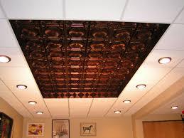 pvc ceiling tiles. PVC Ceiling Tiles Installed Into A Grid System #106 Antique Copper $7.99 For 24x24 Tile Pvc
