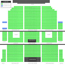 Hamilton Seating Chart Nyc Seating Charts Union County Performing Arts Center