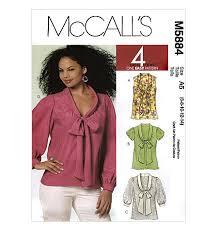 Mccalls Blouse Patterns