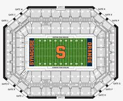 Su Dome Seating Chart Carrier Dome Seating Chart Transparent Png 980x817 Free