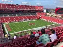 Raymond James Stadium Seating Chart Concert Raymond James Stadium Section 331 Row N Seat 1 Tampa