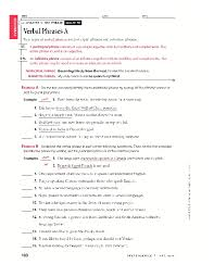 Participle And Participial Phrases Worksheet Worksheets for all ...