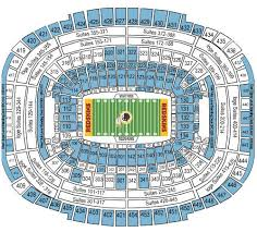 Fedex Field Seating Chart Virtual View New 3 Tennessee