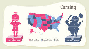 Sign Language Swear Words Chart Oh My Ohio Five States Named Most Likely To Curse Npr