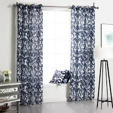 Printed Curtains Living Room Cheapest Window Treatments Window Curtains For Living Room