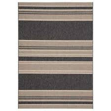 catamaran stripes 2 ft x 3 ft 7 in gray area rug