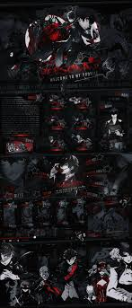 mal profile layouts persona 5 by sylinchen on deviantart