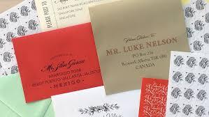 international wedding invitation addressing and mailing tips