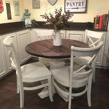 farmhouse round table excellent table luxury round pedestal dining table small round table as within round farmhouse pedestal table modern diy farmhouse