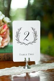 Table Numbers For Weddings Sweet Vintage Wedding Table Number Signs 1 15  White Or Cream