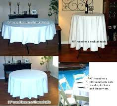 inch round tablecloth tablecloths what size for table x 90 linen 132