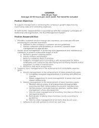 Cashier Job Description Resume. Medical Secretary Resume Samples ...