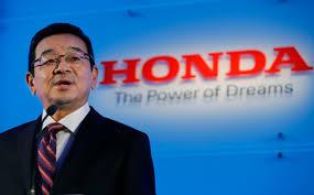 Sumário do discurso do CEO da Honda no Tokyo Motor Show