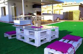 outdoor pallet furniture ideas. Diy-pallet-furniture-ideas-patio-white-painted-pink- Outdoor Pallet Furniture Ideas